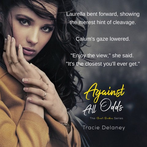 Release Blitz: Against All Odds by Tracie Delaney |