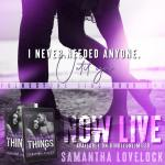 Release Blitz: Fractured Things by Samantha Lovelock