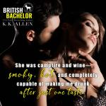 Cover Reveal: British Bachelor by K.K. Allen