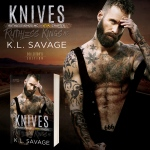 Cover Reveal: Knives by K.L. Savage