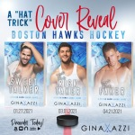 Cover Reveal: Boston Hawk Hockey Series by Gina Azzi