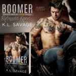 Cover Reveal: Boomer's Rise by K.L.Savage