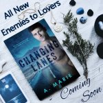 Cover Reveal: Changing Lanes by A.Marie