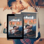Cover Reveal: Check Swing by CarrieAarons