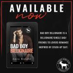 Release Blitz: Bad Boy Billionaire by AmieKnight