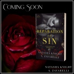 Cover Reveal: Reparation of Sin by Natasha Knight & A. Zavarelli