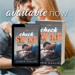 Release Blitz: Check Swing by CarrieAarons