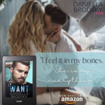 Release Blitz: To Want by DaniellaBrodsky