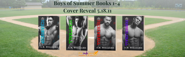 Cover Reveal: Boys of Summer – Books #1-4 by A.M. Williams