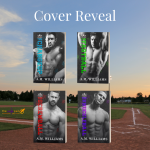 Cover Reveal for Boys of Summer, Books 1-4 by A.M. Williams