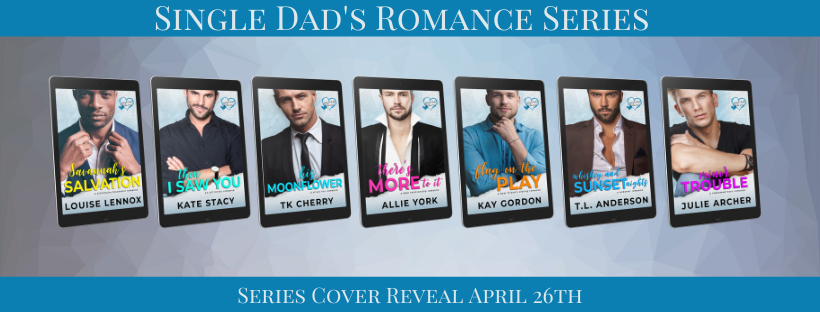Cover Reveal with Giveaway:  Single Dads Romance Series
