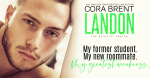 Cover Reveal: Landon by CoraBrent