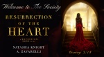 Cover Reveal: Resurrection Of The Heart by Natasha Knight & A. Zavarelli