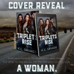Cover Reveal: Triplets Rise by K.L.Savage