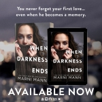 Release Blitz: When Darkness Ends by MarniMann