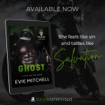 Release Blitz: Ghost by EvieMitchell