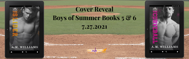 Cover Reveal:  Boys of Summer Books 5-6 by A.M. Williams