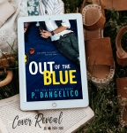 Cover Reveal: Out of The Blue by P.Dangelico