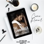 Cover Reveal: The Commander by MelanieMoreland